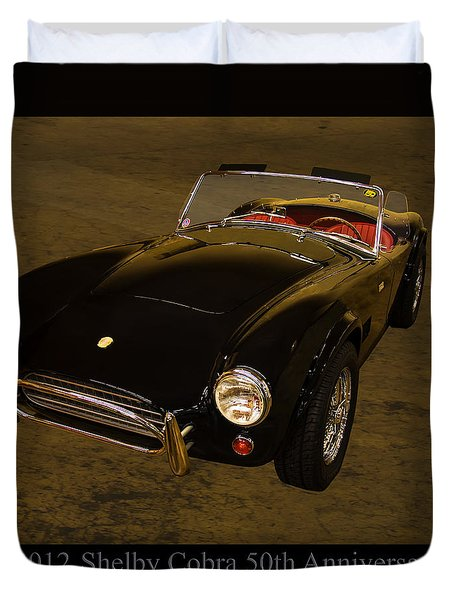 2012 Shelby Cobra 50th Anniversary  Duvet Cover