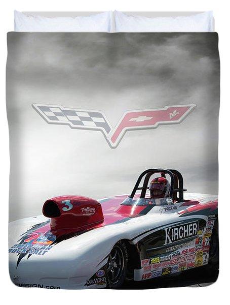 2013 Corvette Duvet Cover