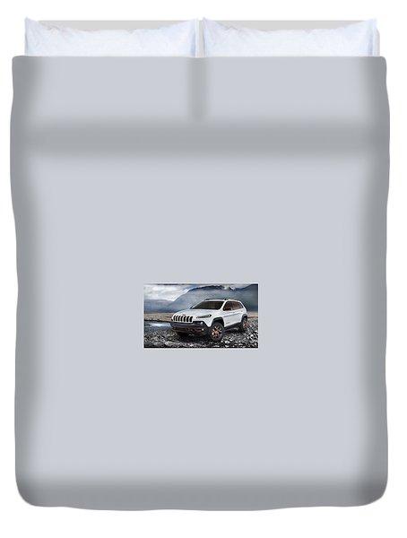 Jeep Cherokee Duvet Covers Fine Art America