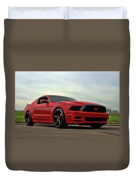 2014 Mustang Duvet Cover