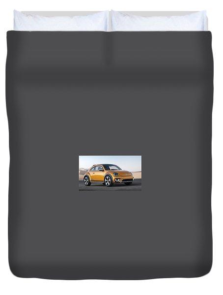 2014 Volkswagen Beetle Dune Concept Duvet Cover