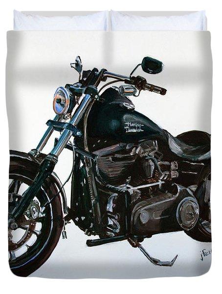 2015 Harley Davidson Dyna Duvet Cover