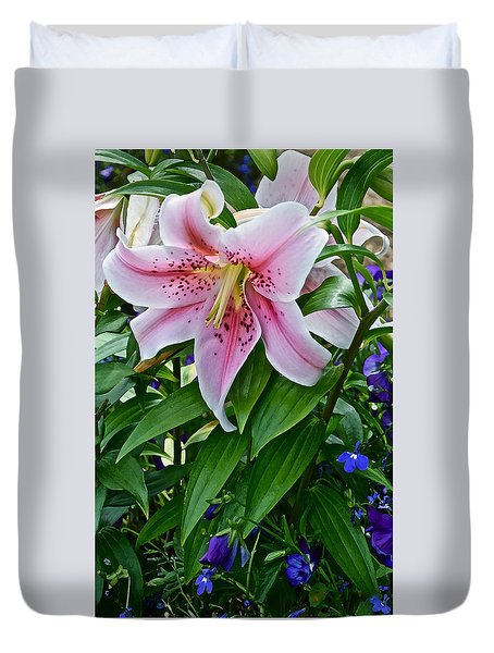 2015 Summer At The Garden Event Garden Lily 3 Duvet Cover
