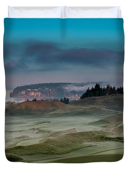 2015 Us Open - Chambers Bay Vi Duvet Cover