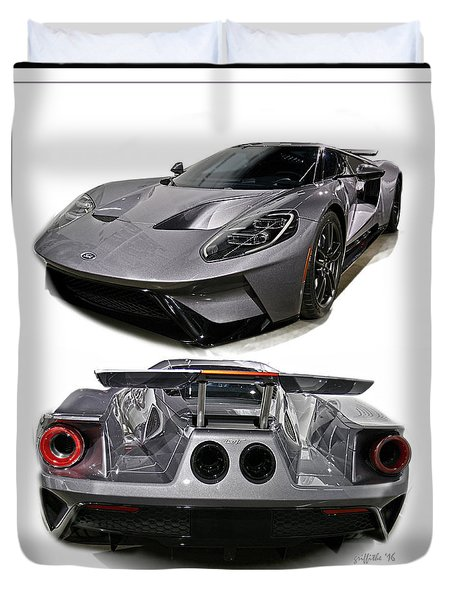 2016 Ford Gt Duvet Cover