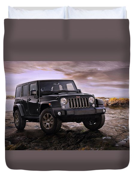 2016 Jeep Wrangler 75th Anniversary Model Duvet Cover