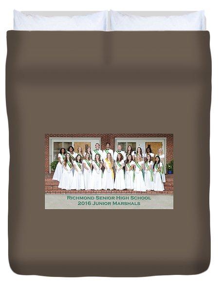 2016 Jr Marshals Duvet Cover