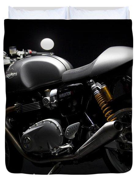 2016 Triumph Thruxton R Duvet Cover
