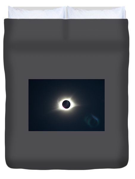 2017 Total Solar Eclipse Duvet Cover