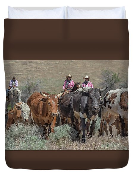 2018 Reno Cattle Drive 10 Duvet Cover