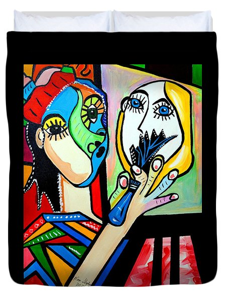 Artist Picasso Duvet Cover