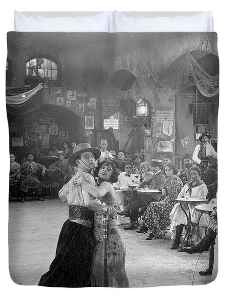 Rudolph Valentino Duvet Cover