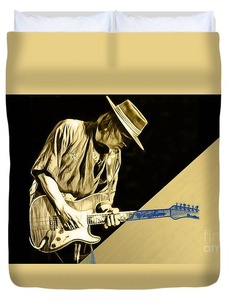 Stevie Ray Vaughan Collection Duvet Cover