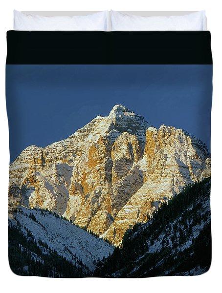 210418 Pyramid Peak Duvet Cover