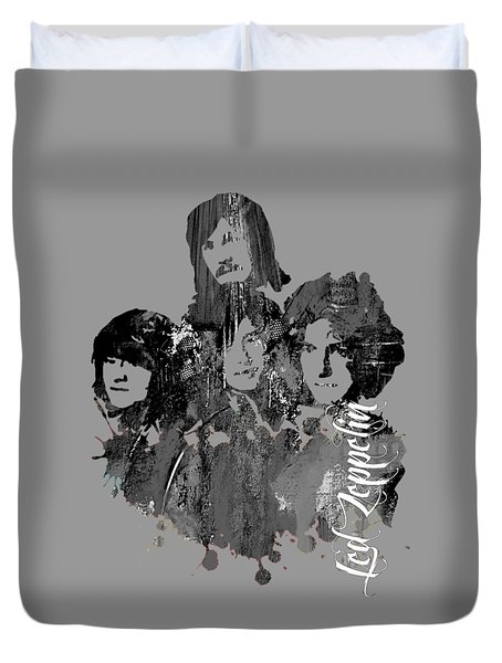 Led Zeppelin Collection Duvet Cover
