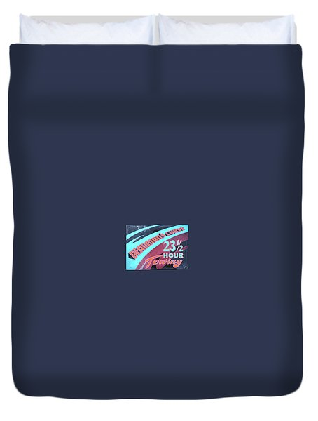 23 1/2 Hour Towing Duvet Cover