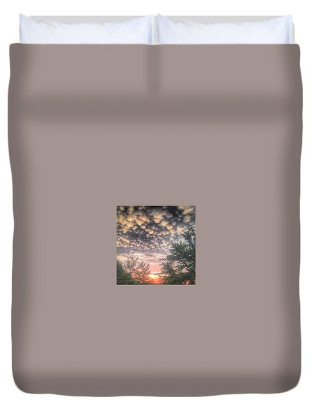 Duvet Cover featuring the photograph 23 June 15 by Toni Martsoukos
