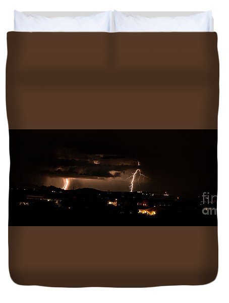 Lightning Duvet Cover