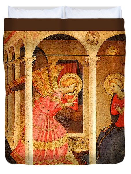 Fra Angelico  Duvet Cover by Fra Angelico