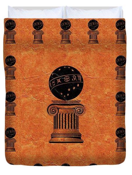 Freemason, Masonic, Symbols Duvet Cover