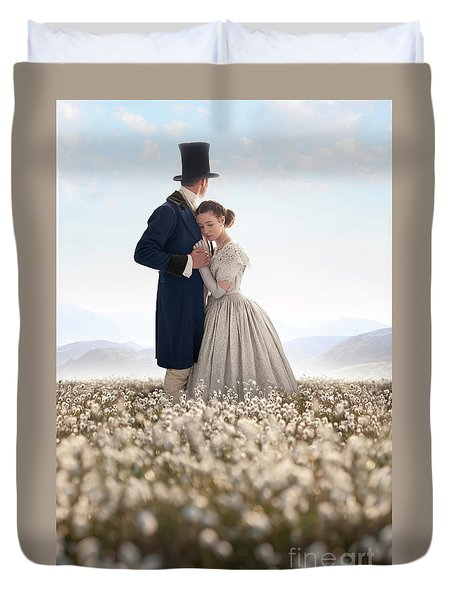 Victorian Couple Duvet Cover