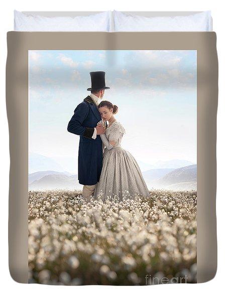 Victorian Couple Duvet Cover by Lee Avison