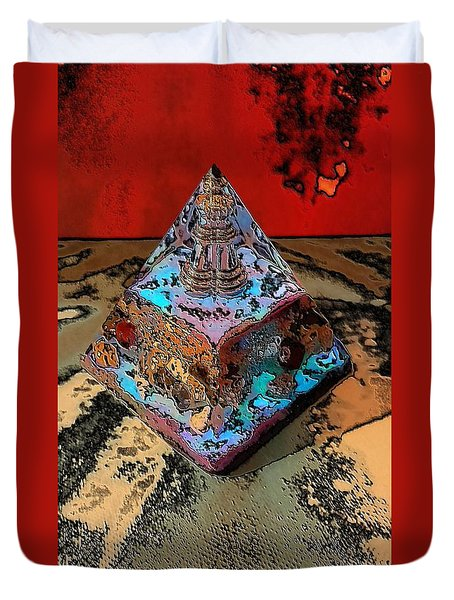 Abstract Orgone Duvet Cover