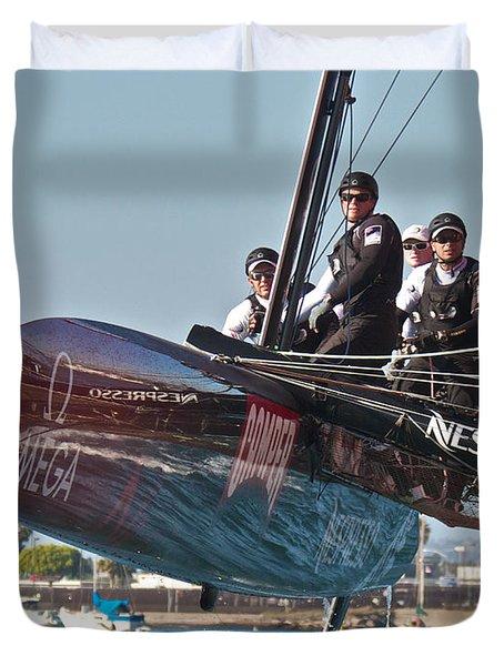 Emirates Team New Zealand Duvet Cover