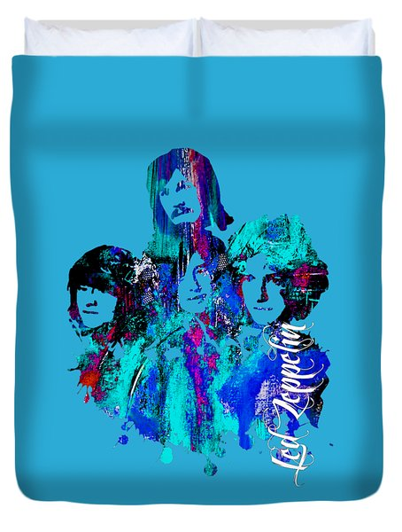 Led Zeppelin Collection Duvet Cover