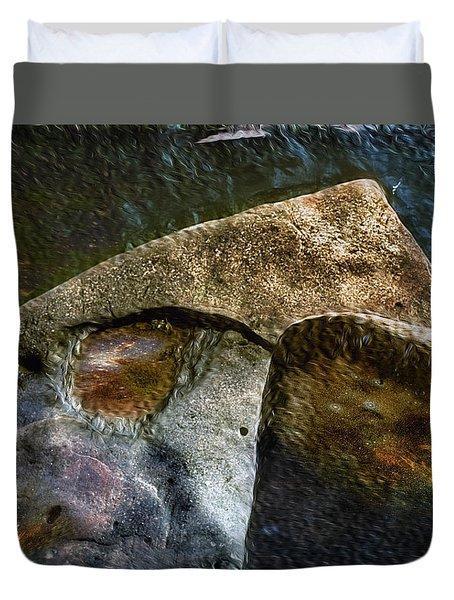 Stone Sharkhead Duvet Cover