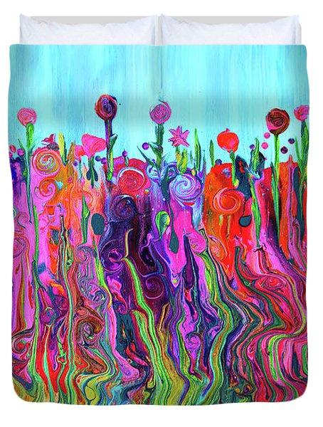 #2555  Happylittle Garden Duvet Cover