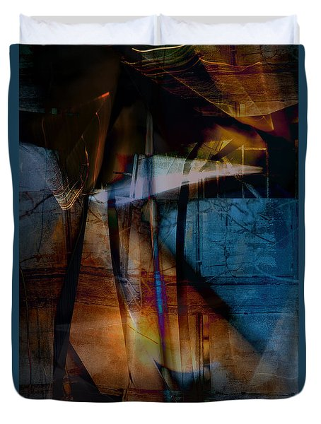 An Occasional Dream Duvet Cover by Danica Radman