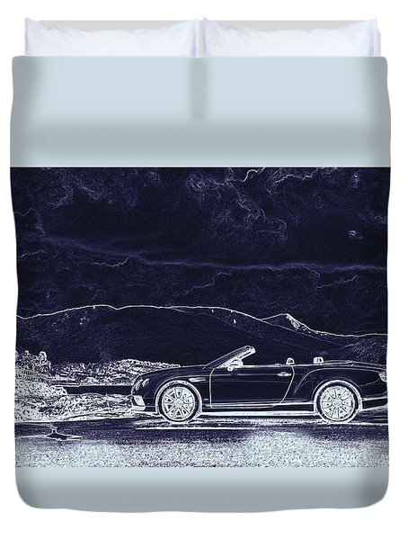 Bentley Continental Gt Duvet Cover