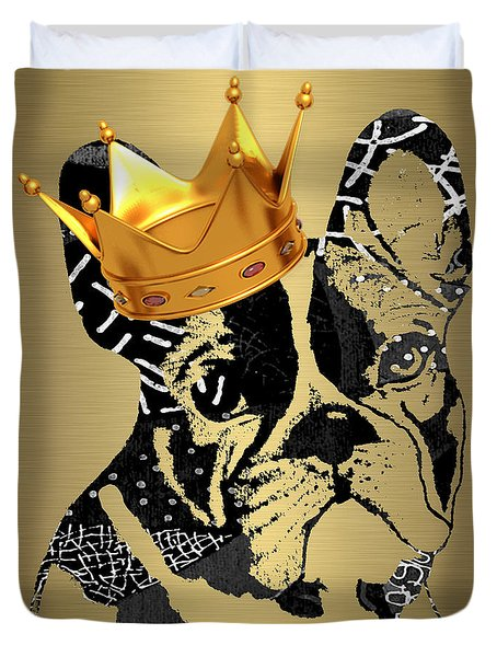 French Bulldog Collection Duvet Cover