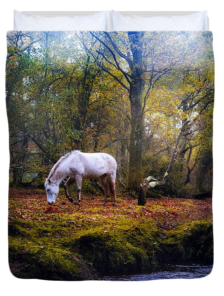 New Forest - England Duvet Cover