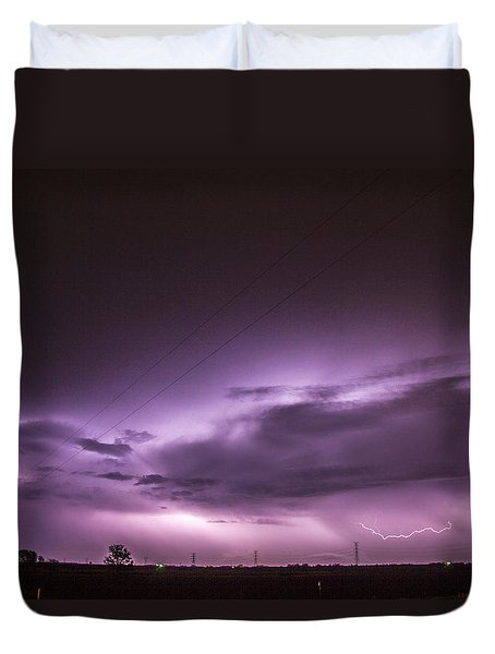 6th Storm Chase 2015 Duvet Cover