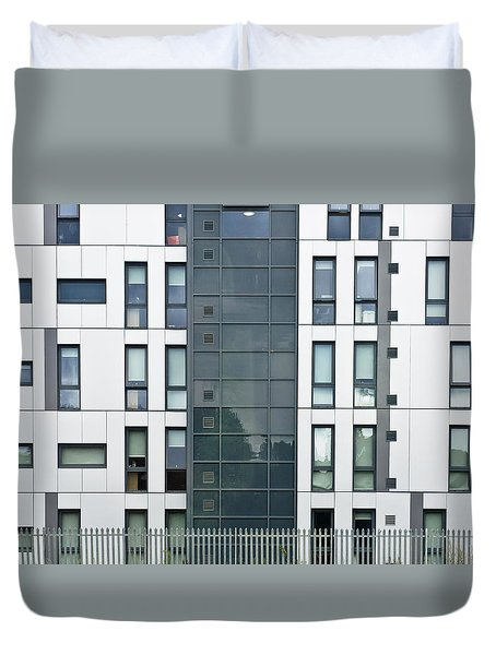 Modern Building Duvet Cover