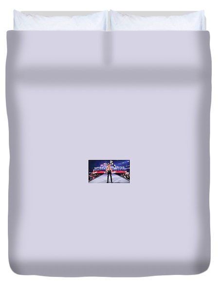 Wrestling Duvet Cover