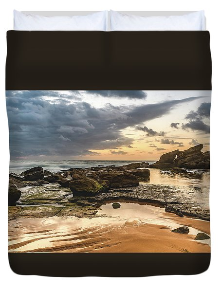 Dawn Seascape Duvet Cover