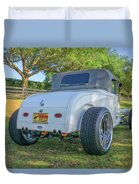 29 Steel Body Duvet Cover