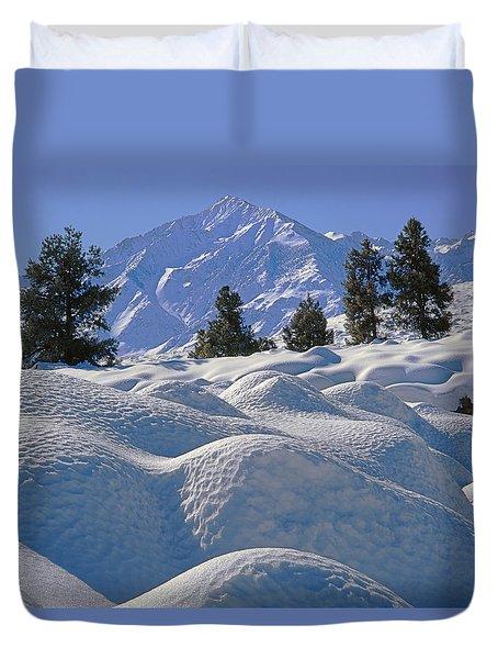 2m6402 Mt. Tom From Sherwin Grade Duvet Cover