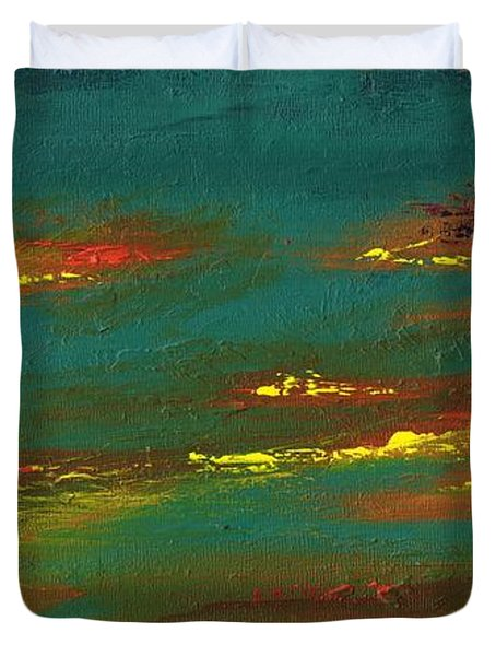 2nd In A Triptych Duvet Cover