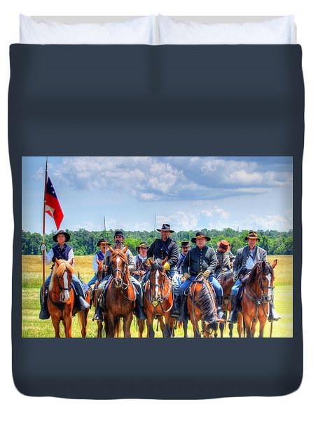 2nd Us Cavalry  Duvet Cover