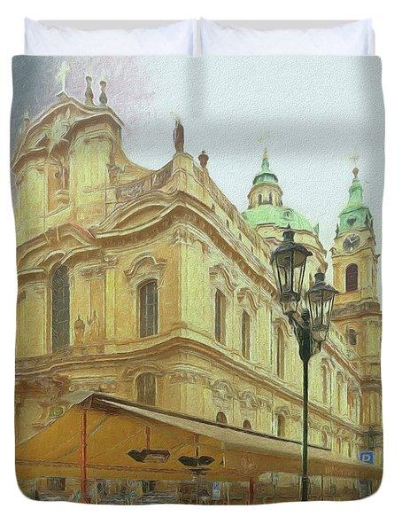 2nd Work Of St. Nicholas Church - Old Town Prague Duvet Cover
