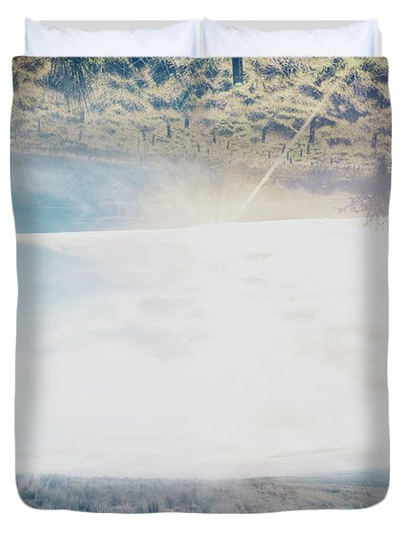 Abstract Nature Exposure Duvet Cover