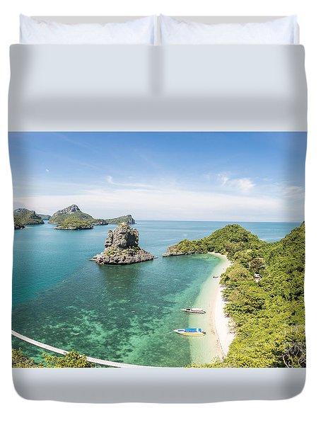 Ang Thong Marine National Park Duvet Cover