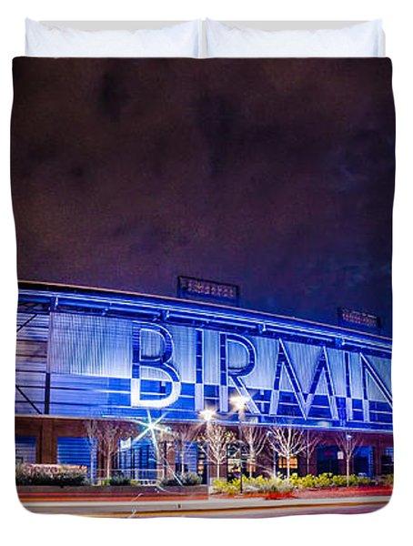 April 2015 - Birmingham Alabama Regions Field Minor League Baseb Duvet Cover