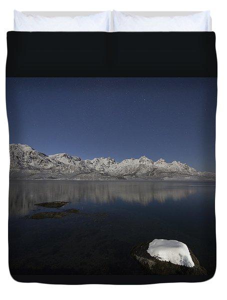 Arctic Night Duvet Cover