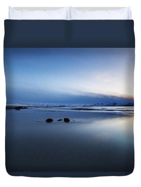 Arctic Sunset Duvet Cover