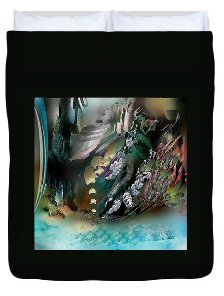 Divine Colors Of Art Duvet Cover